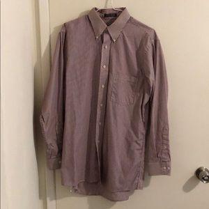 Vertical Stripe Dress Shirt